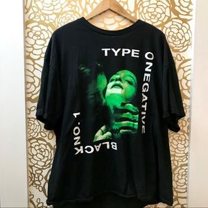Type O Negative Black No. 1 Graphic Band Tee Shirt